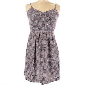 J crew sleeveless summer dress with pockets